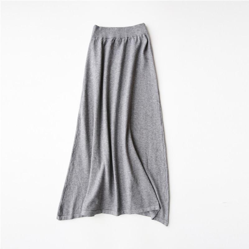 Вязать простую юбку