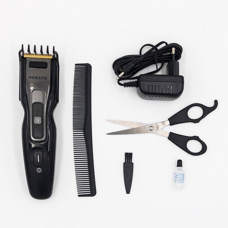 Cadeaux tondeuse à cheveux Rechargeable électrique professionnel Machine de découpe barbier cheveux hommes coupe de cheveux sans fil coupe Machine tondeuse - 6