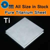 Foglio di titanio Gr1 UNS TA2 Pure Titanium Ti Industria Mould Macchina Piatto di Spessore Sottile Piatto Anti-corrosione o FAI DA TE materiale