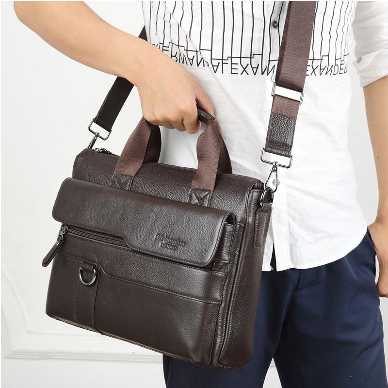 Messenger Black Neue Paket Offiziellen Kreuz Leder Offizielle coffee Apple Trend Handtaschen abschnitt Schräg Business Herren Brief UBRUxqPwWa