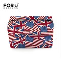 FORUDESIGNS New Arrival Multifunction Women Cosmetic Bag Floral Printed Beautycase Folding Makeup Cosmetics Storage Box