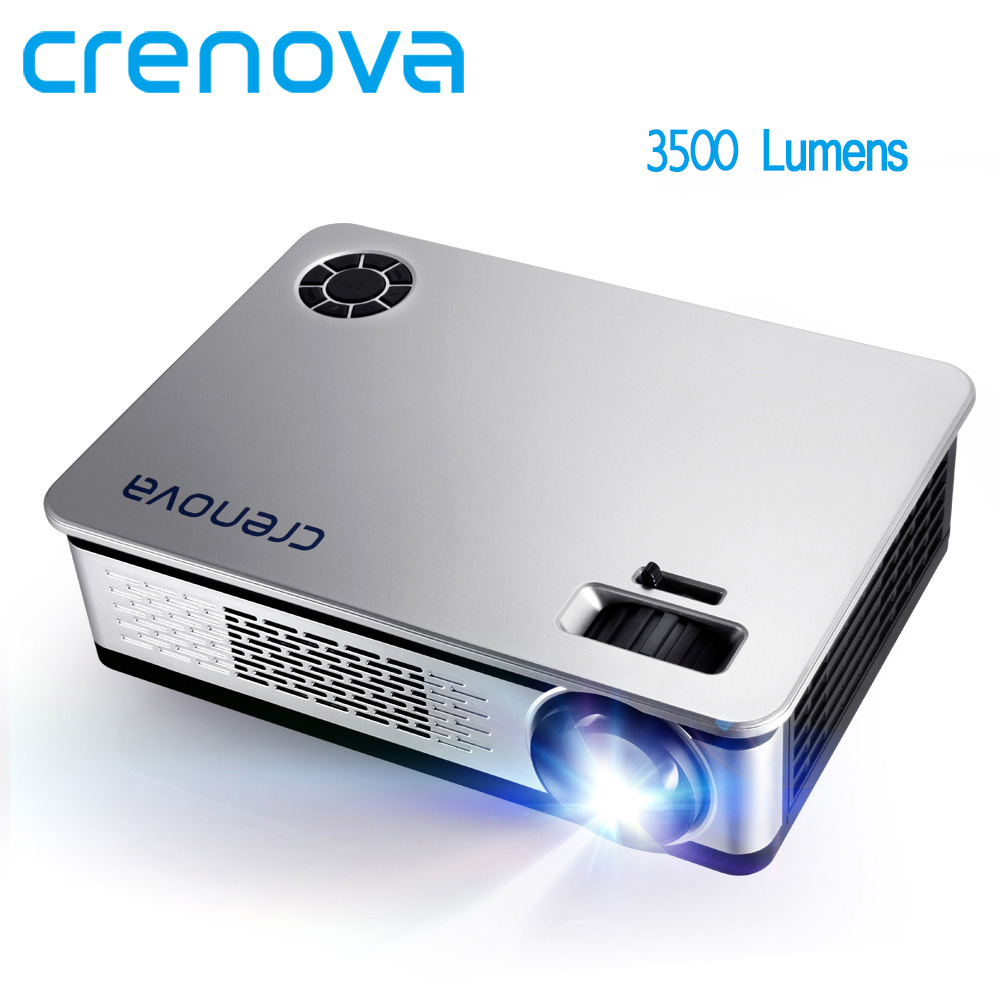 CRENOVA 3500 Lumens LED Projector For Full HD Android Projector Support 1920*1080P With WIFI Bluetooth 4.0 Android 7.1 OS Beamer
