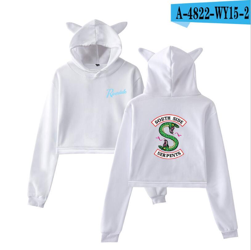 new Sudaderas Mujer 2019 Riverdale Sweatshirt Harajuku Fashion Hoodies Plus Size Streetwear Sudadera Mujer Hoodies Women in Hoodies amp Sweatshirts from Women 39 s Clothing