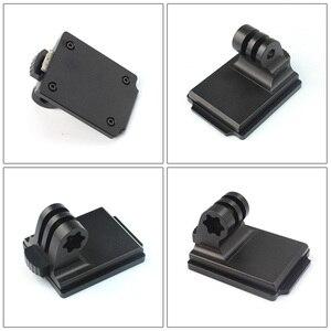 Image 4 - Adaptador de suporte nvg para capacete, suporte de alumínio para gopro hero 8 7 4 5 6 session yi sjcam eken câmeras esportivas de ação