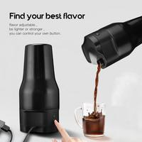 22%,550ml Portable USB Electric Coffee Maker Vacuum Coffee Machine Auto Caffe Cafe American Filter for Home Outdoor Travel