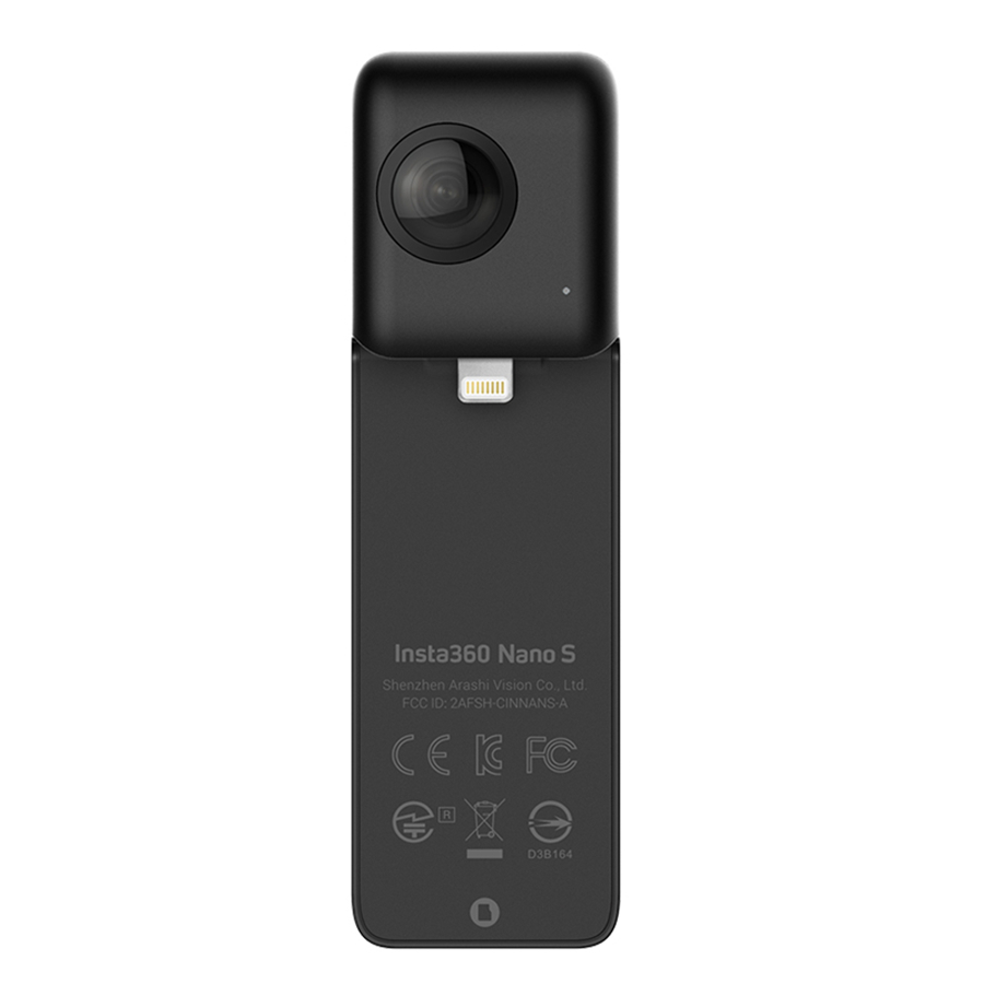 все цены на (In Stock)2018 New arrival Insta360 Nano S 360 Panoramic Camera 4K VIDEO + 20 MP PHOTOS онлайн