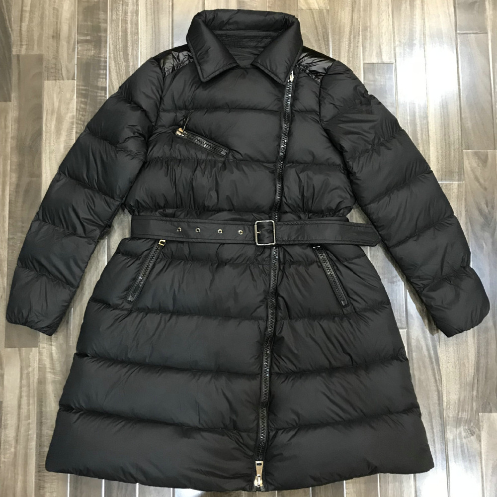 2019 New Women Winter Thick Warm 90% White Duck   Down     Coats   Lady Slim Fit Long Snow Outerwear Jackets Black Gray High Quality