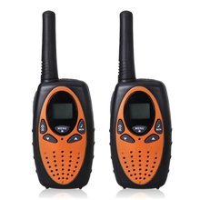 Display LCD retroiluminado walkie talkies 2-way, 8 canais sistema PMR função auto scan, UHF400-470MHZ Rádio 2-Way 3 KM alcance Interfone