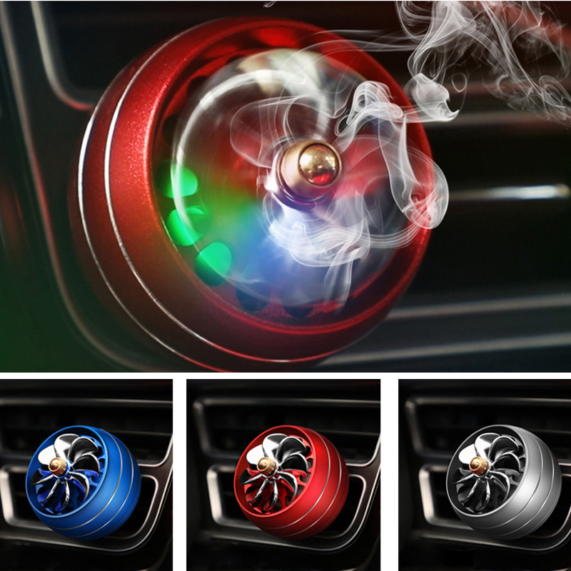 Car Air Freshener Colorful Lights Air Vent Perfume For <font><b>Honda</b></font> civic accord crv fit <font><b>city</b></font> hornet Subaru Forester Impreza Outback image