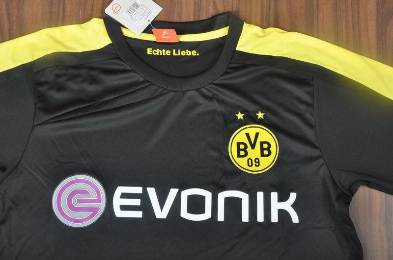 01691865927 A+++ Germany Borussia Dortmund Lewandowski 9# 2014 New Thai Version Away  Black Soccer Jersey Football uniform Custom Custom-in Soccer Jerseys from  Sports ...