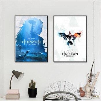 Horizon Null Dawn Spiel Kunstwerk Poster und Drucke Wand kunst ...