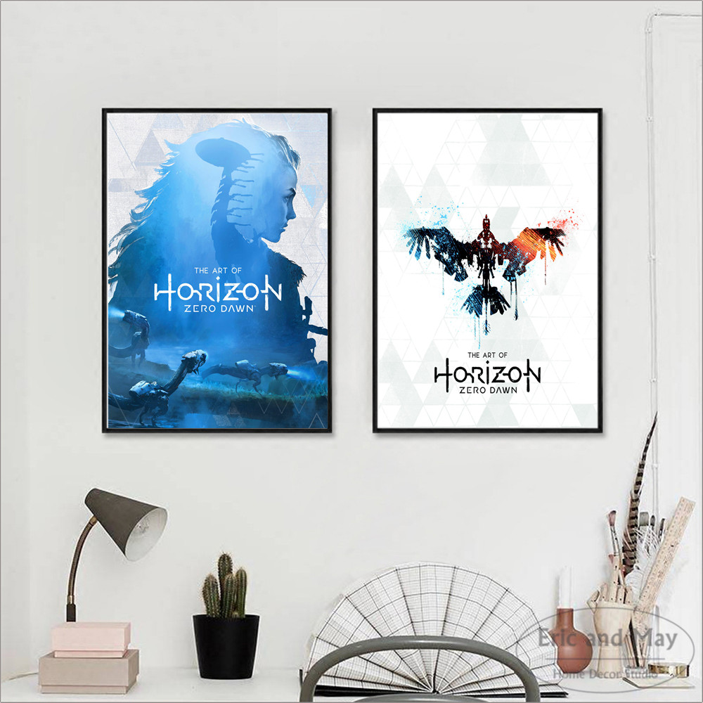 Horizon Zero Dawn Game Artwork Posters And Prints Wall Art Decorative Picture Canvas Painting For Living Room Home Decor Unframe