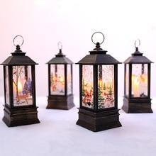 Рождественские украшения для дома светодиодный светильник для рождественской елки