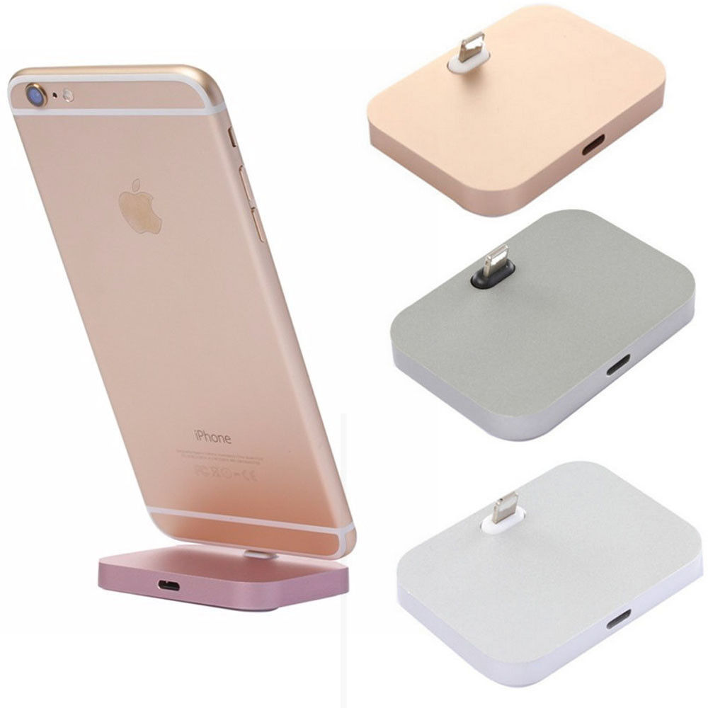 Metal Charging Base Dock Station Cradle Desktop Docking Charger For Samsung S10 S10E M10 Huawei Mate 20 For iPhone XR XS MAX X