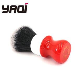 Image 3 - Pennello da barba Yaqi 26mm, versione bianca, rigida, con nodo smoking