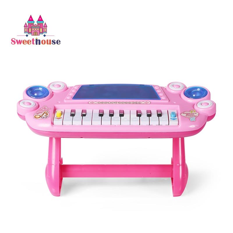 Organice electronice portabile pentru copii pian toys 22 chei - Învățare și educație