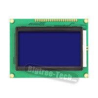 Lcd-scherm 12864 128x64 Dots Grafische Blauw Kleur Backlight LCD Display Module voor arduino raspberry pi 3d printer
