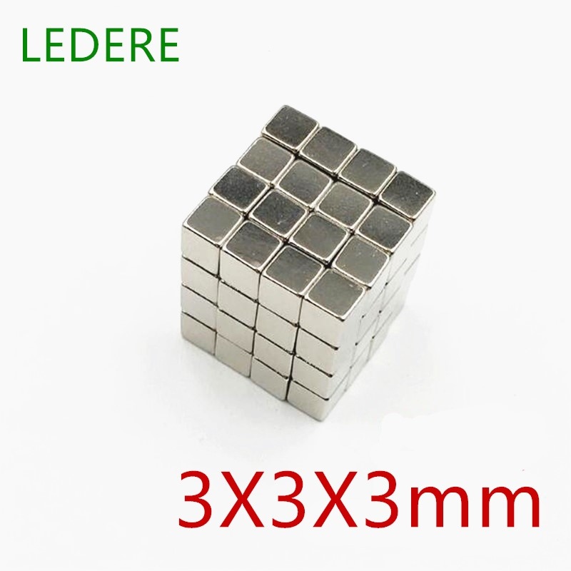 LEDERE 125/216Pcs 3x3x3 Small Neodymium Magnet Cube 3mm Super Strong Powerful Magnetic Magnets Block Buck Cube DIY 3*3*3 mm велосипед cube stereo 140 super hpc slt 29 2015 page 3
