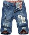 Бермуды masculinas деним мужчины в джинсы шорты мужские шорты джинсы