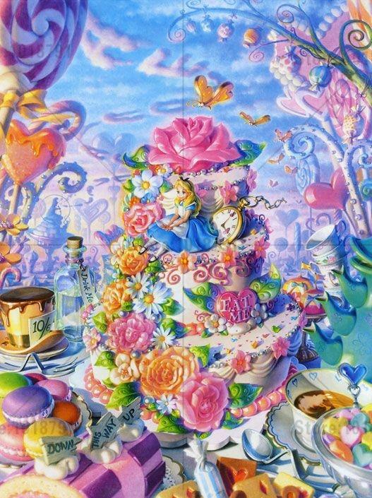 Alice In Wonderland Arts And Crafts