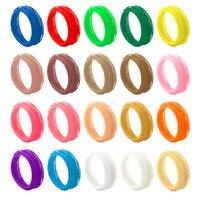 Universele 10 M Lengte 20 Kleuren PLA/ABS 3d-printer Gloeidraad 1.75 MM 3D Print Filament Voor 3d-printer 3D Printing Pen Groothandel