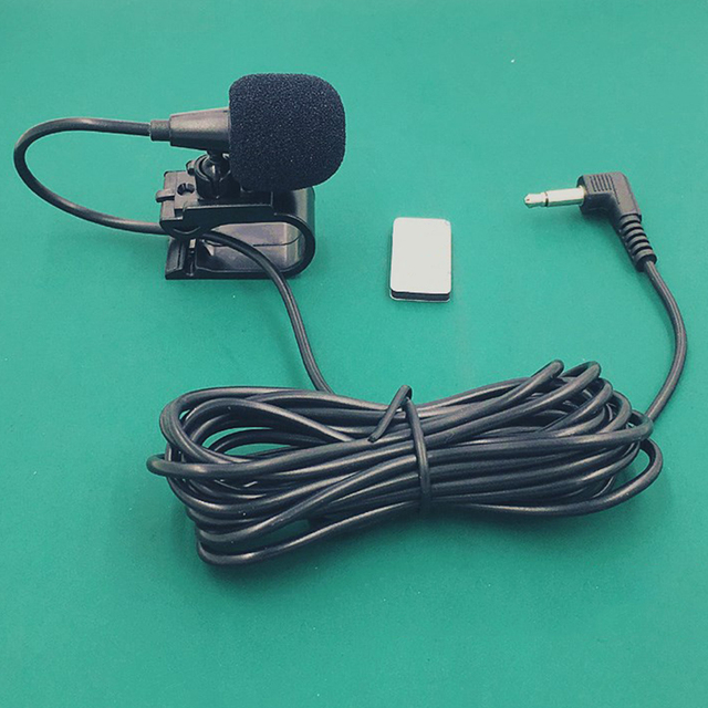 Micrófono estéreo portátil Bluetooth 3,5mm con micrófono externo para coche de Audio