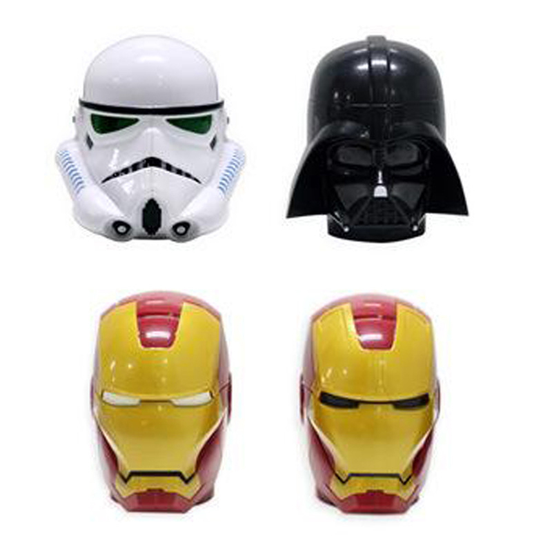Free Shipping Darth Vader Stormtrooper Iron Man Star Wars 3D Mug Cup Helmet Mug Creative Toy For Friend Or Family