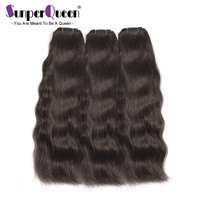 Raw Indian Mink Virgin Hair Human Bundles Natural Straight Surfing Wave Natural Color Human Hair Extension 3PC Free Shipping