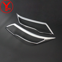chrome headlight head light cover For toyota Rush 2018 ABS car styling parts auto accessories lights For toyota rush 2018 YCSUNZ