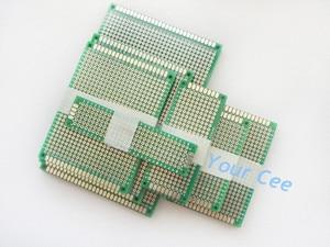 Image 3 - 35 stücke 5x7 8x12 7x9 6x8 4x6 3x7 2x8 cm doppel Seite Bord Kupfer prototyp pcb Universal Platine