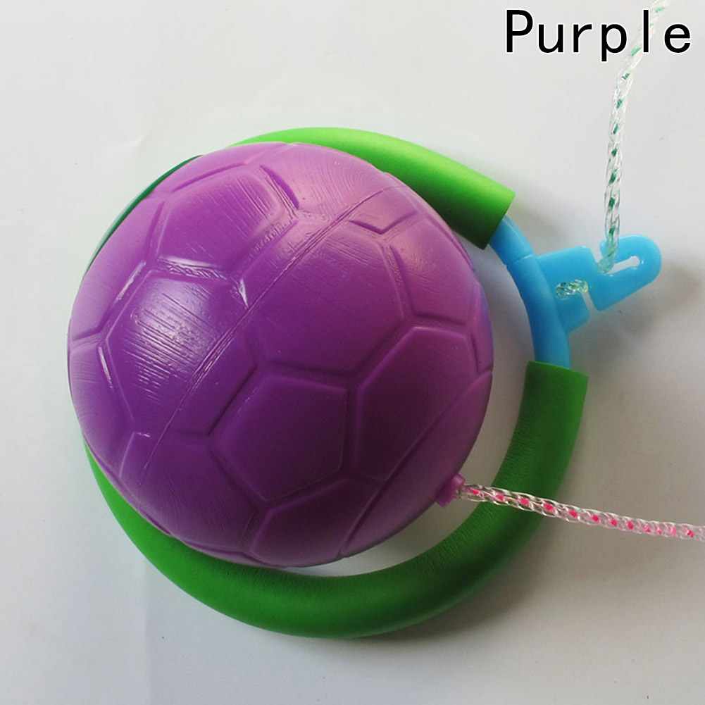 New Hot! Outdoor Fun Toy 6 Colors Skip Ball Fitness Equipment Toy Skipping Toy Balls Classical
