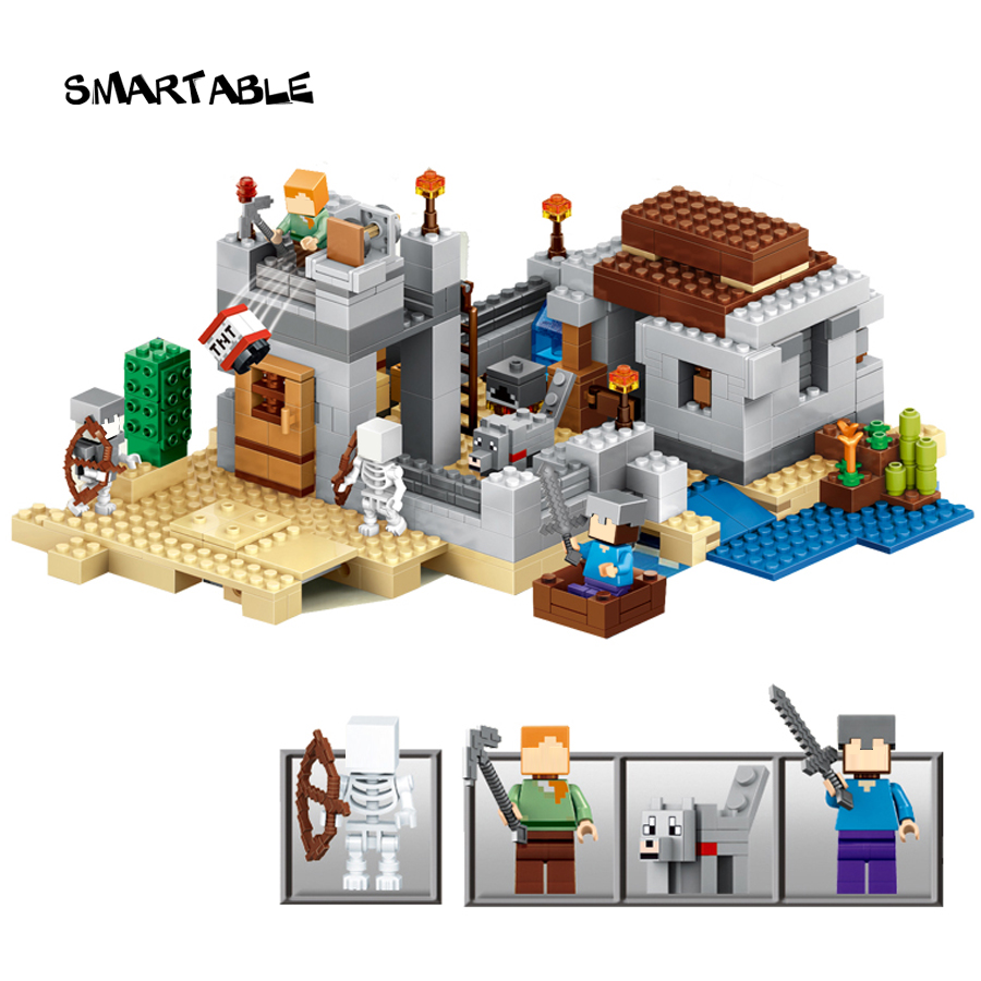 Smartable 531pcs Minecrafted Building Block Desert 79148 Figure Bricks toys lepin Minecrafted gift for children lepin 22001 pirate ship imperial warships model building block briks toys gift 1717pcs compatible legoed 10210