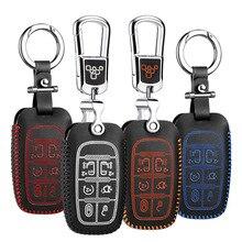 car key cover 4 button for bmw mini clubman 2014-2017 countryman 2017 jcw 2015 leather case key2p Free s