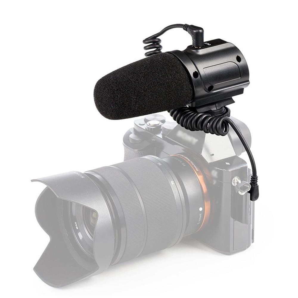Saramonic SR-PMIC3 ruumilise salvestusmikrofoni integreeritud Shockmountiga, väikese lõikega filtriga ja akutuvaga operatsiooniga kerge