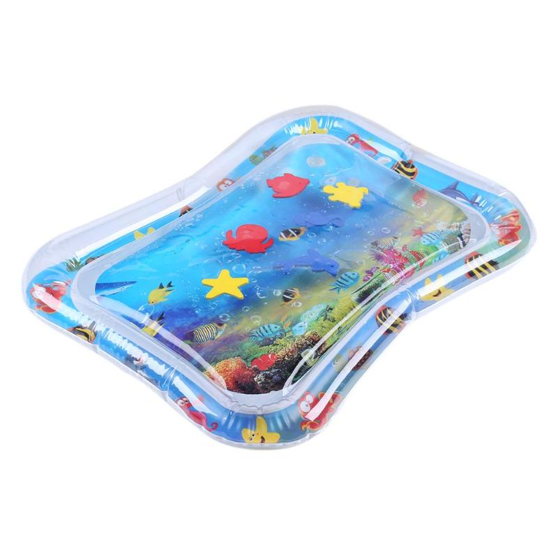 HTB10lkcPXzqK1RjSZFvq6AB7VXaz Summer inflatable water mat for babies Safety Cushion Ice Mat Early Education Toys Play