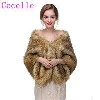 Bridal Winter Raccoon Fur Wrap Women Bridal Wraps Fur Stole For Bridemaid Fur Cape Wedding Fur Shrug For Wedding Dress