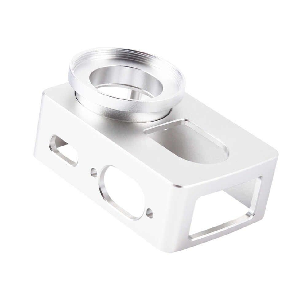 Для Xiaomi Yi 4k ЧПУ алюминий сплав рамки чехол + объектив Защитная крышка без УФ объектив для спорта экшн видеокамеры интимные аксессуары