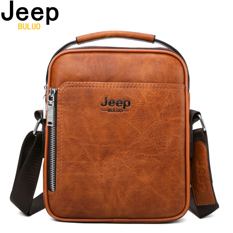 JEEP BULUO Men Messenger Bags High Quality Split Leather Large Capacity Man Bag Crossbody Shoulder Tote Bags For Male New BagJEEP BULUO Men Messenger Bags High Quality Split Leather Large Capacity Man Bag Crossbody Shoulder Tote Bags For Male New Bag