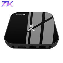 A95X Plus TV Box Android 8.1 Amlogic S905 Y2 4 GB DDR4 32 GB ROM 2.4G/5G WiFi USB3.0 BT4.2 Support 4 K H.265 lecteur multimédia intelligent