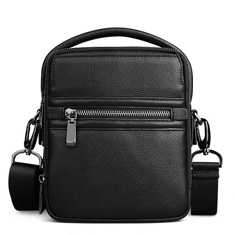 2018 Genuine Leather Men Bags Ipad Handbags Male Messenger Bag Cow Genuine Leather Crossbody Shoulder Bag Men's Travel Bags цена 2017