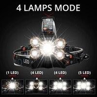 Налобный LED-фонарь #3