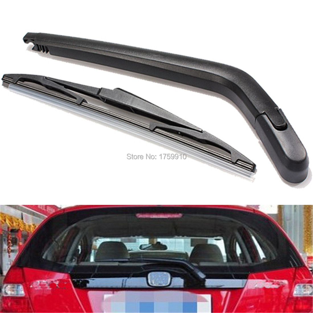 New car windscreen rear wiper arm and blade for toyota yaris for vitz 1999 to