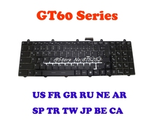 Laptop Keyboard For MSI GT60 GT70 GX60 GX70 V123322LK1 SP Spain S1N-3EES2G1-SA0 TR Turkish S1N-3ETR2G1-SA0 US English V139922AK