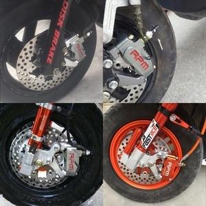 Image 5 - Pinza de freno Universal para motocicleta Yamaha Aerox Nitro, RSZ, JOG, BWS, Zuma, 50 rr + 200mm / 220mm