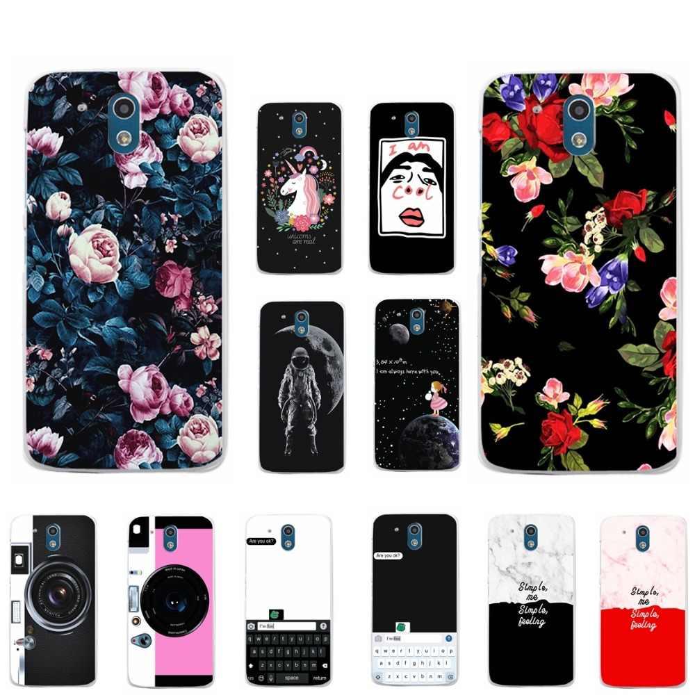 Винтажный чехол для телефона с цветами в тропическом стиле для htc Desire 526, мягкий силиконовый чехол из ТПУ для htc 526 526G 526G 326 326G