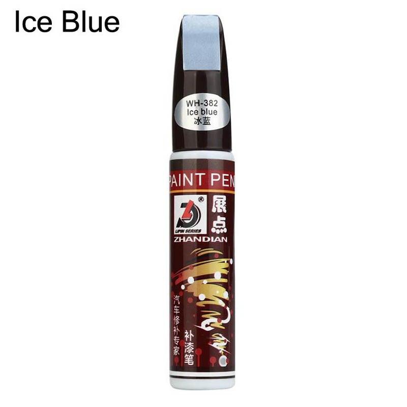 Для автомобильной краски, ручка, покрытие, защита от царапин, ремонт, аппликатор, нетоксичный, Прочный инструмент NJ88 - Цвет: Ice blue