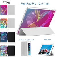 MTT Creative Streak Back Case Filp PU Leather Smart Cover For IPad Pro 10 5 Auto