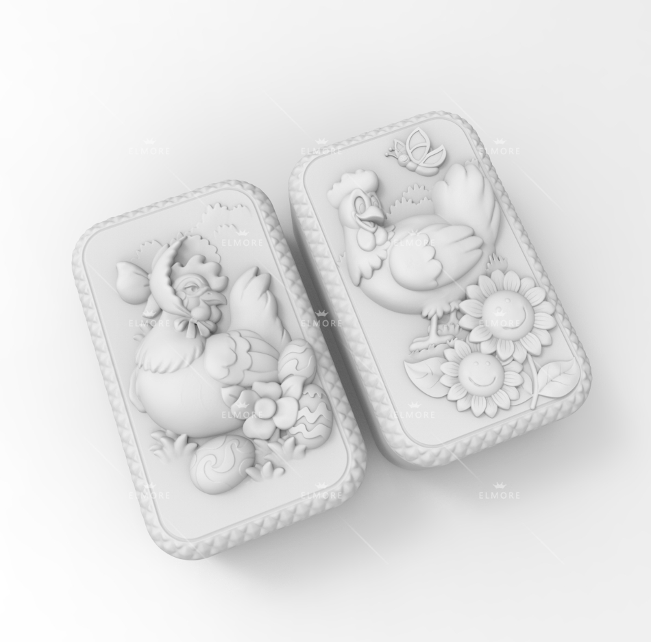 Silicone Mould DIY handmade soap mold font b food b font grade molds Sunflower and Hatching