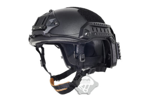NEW maritime Tactical Black FMA Helmet ABS BK For FMA Paintball TB814 M/L TB836 L/XL Free Shipping fma maritime helmet multicam black tb1084
