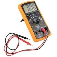 Digital Multimeter LCD AC DC Automatic Range Power OFF Multimeter Ammeter Ohmmeter Resistance Capacitance Mete E3174